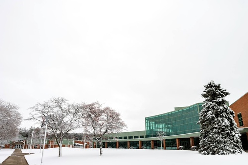 WSCC Campus in the Winter