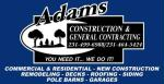 Adam's Construction & General Contracting LLC