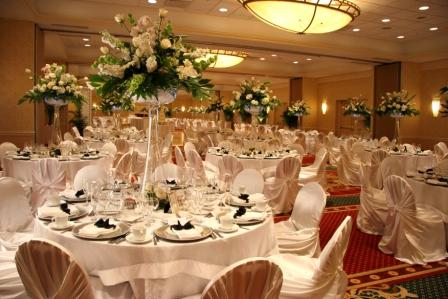 17 meeting/event rooms {Pictured; Grand Ballroom set for a wedding}