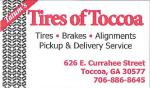 Tires of Toccoa