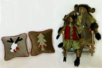 Woof & Poof - Whimsical holiday collectibles