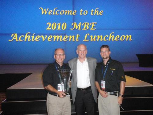 Our store was the recipient of the Franchisee of the Year award at the 2010 National Convention in Las Vegas.
