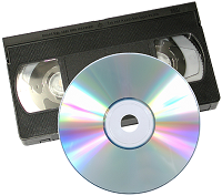 We transfer VHS and all other video tape formats to DVD