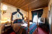 The Governor's Suite Queen Room at The Lodge Resort & Spa in Cloudcroft
