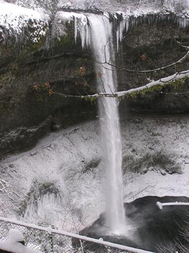 South Falls in winter