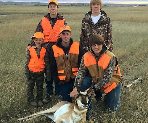 Family Antelope Hunt