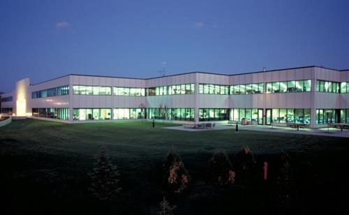Hutchinson Main Building at Night