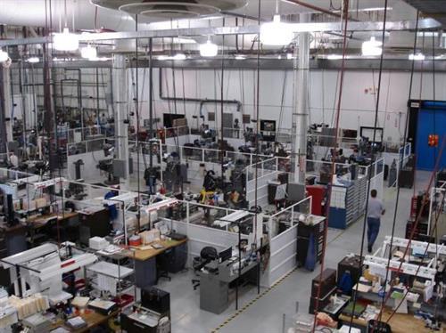 HTI Toolroom Arial View