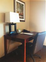 Guest suite desk station