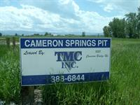 Cameron Springs Pit 1050 E. Cameron Bridge Rd. Belgrade, MT