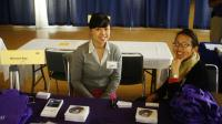 Western Region Office Staff Members at a California Career Fair