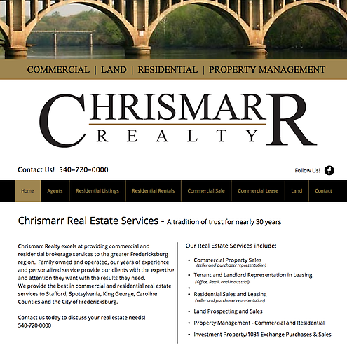 Chrismarr Realty - Website Design & Social Media