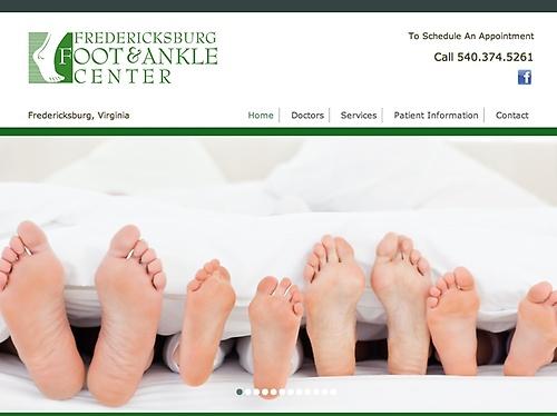 Fredericksburg Foot & Ankle Center - Website & Social Media