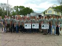 Staff Members Help Tree Fredericksburg for Earth Day 2012