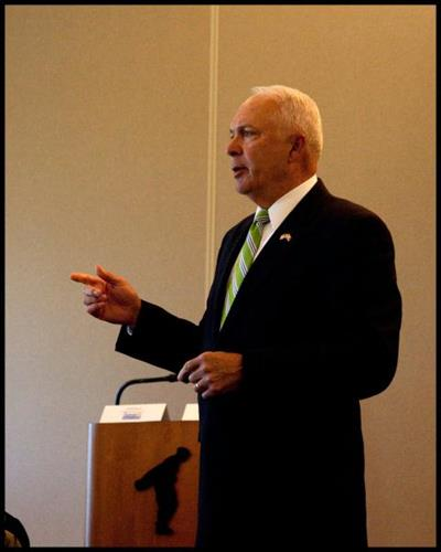 U.S. Congressman, John Kline at our Member Luncheon on August 25th, 2011
