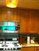 Stainless convection oven microwave and dishwasher