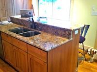 Granite counters - pull out trash bin