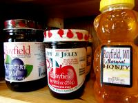 Local Jams and Jellies, Cold Beverages and Snacks
