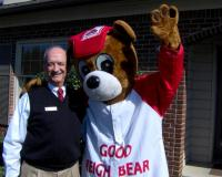 Barry with the State Farm Good Neighbear.