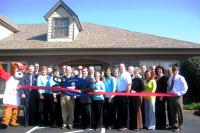 Ribbon cutting for new office expansion celebrated April 7, 2009.