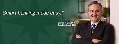 North Middlesex Savings Bank President, Walter Dwyer