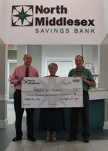 NMSB is proud to be the lead sponsor of the Habitat for Humanity of North Central Massachusetts for their Ayer, MA project.