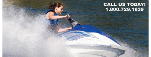 Jetski at Smith Mountain Lake