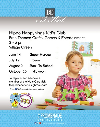 Kid's Club at The Promenade Bolingbrook