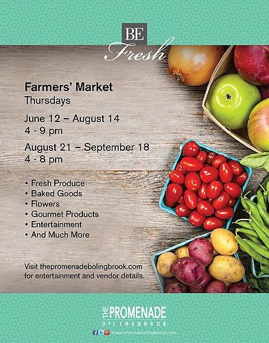 Farmers' Market at The Promenade Bolingbrook