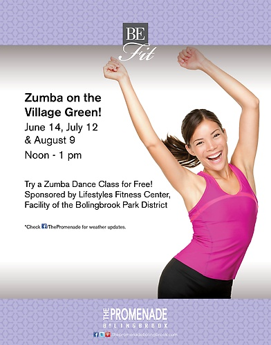 Zumba at The Promenade Bolingbrook