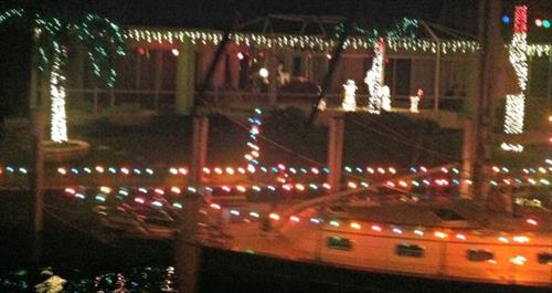 The lighted canal tour is a great way to see all the holiday lights reflecting in the water