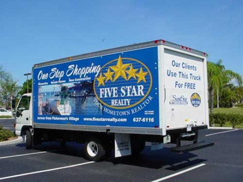 Our clients use this truck for FREE!