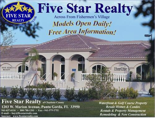 Sanders Cathy Five Star Realty Of Charlotte County Inc