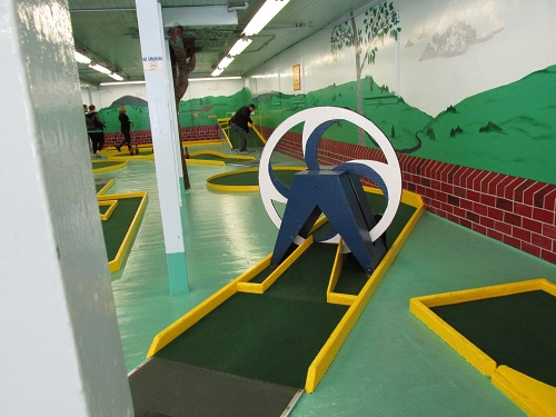 Mini- golf with us!
