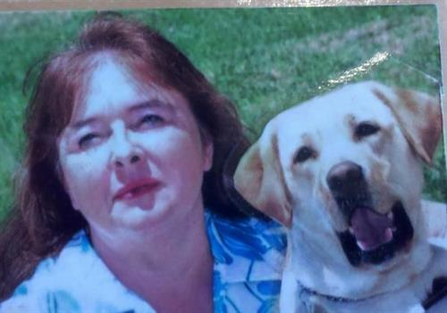 Billie Snell, LMT and Guide Dog, Joncee