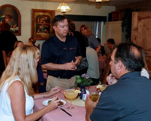 The July 14 Chamber Mixer was a great networking event!