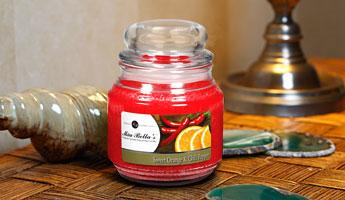 Jar Candles, no paraffin.