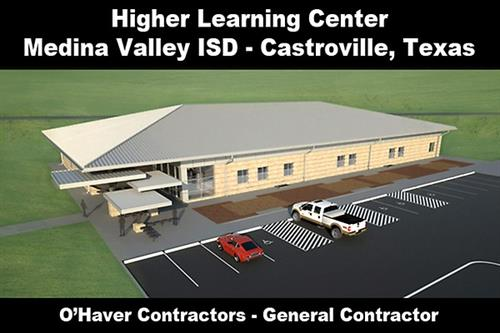 Medina Valley ISD - Higher Learning Center:  New Project ''Under Construction''