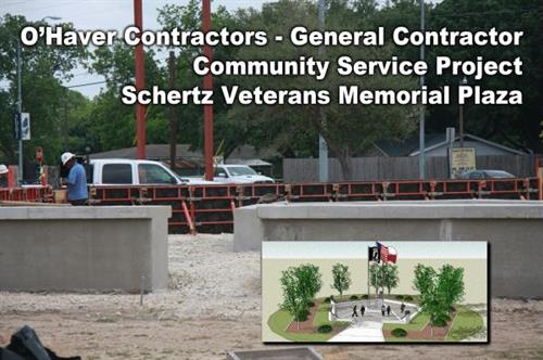 Schertz Veteran's Memorial Plaza