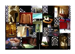 A collage of things around the El Morocco Inn & Spa!