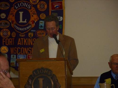 Shane Sparks Reads Slate Of Officers For 2013-2014
