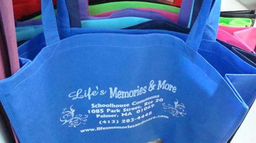 Get Your Own Life's Memories & More Reusable Bag!
