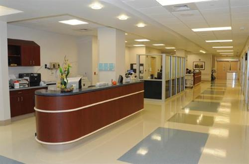 ER Physician and Nurses' Station