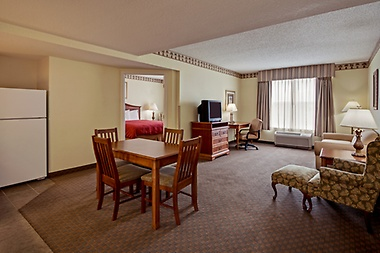 Experience one of our Captain's Quarter Suites.