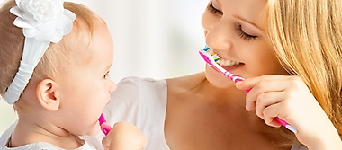 Taking a proactive approach, educating and providing supplies for good oral health habits.