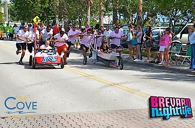 Pink Ribbon Walk at Port Canaveral - Bed & Bathtub Race