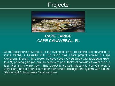 Cape Caribe - Cape Canaveral, FL