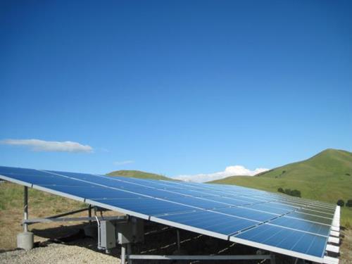 A surplus of clean solar energy.