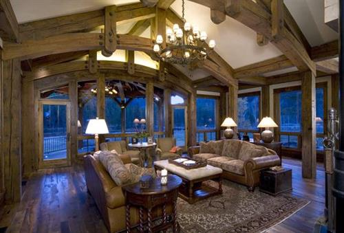 Colorado Residence Living Room