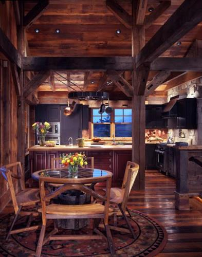 The Mueller Barn Entry - Kitchen